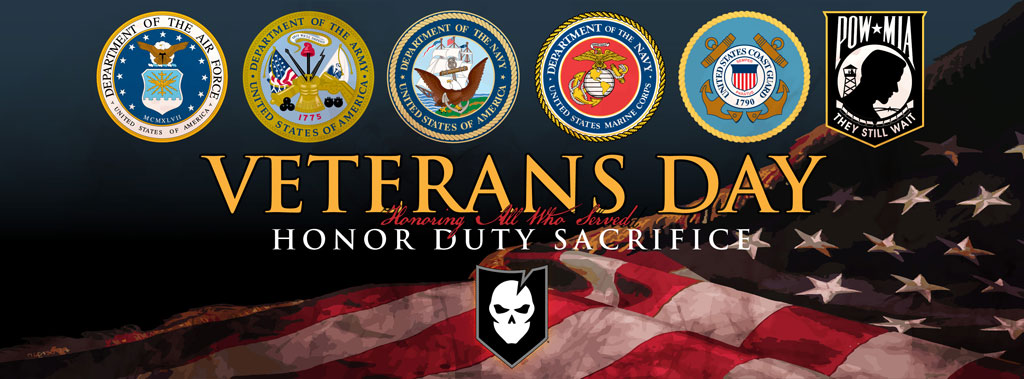 Today We Pay Tribute To Our Veterans
