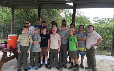 Troop 190, Irma Cleanup