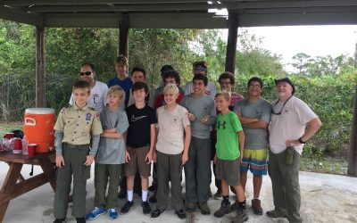 Troop 190, Irma Cleanup